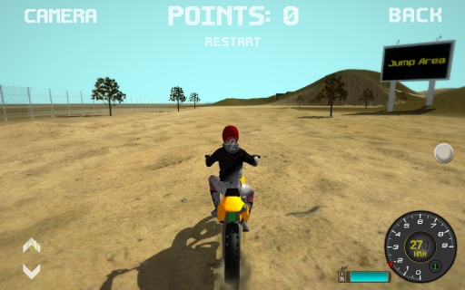 越野摩托车模拟器截图1