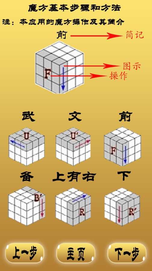 三阶魔方必杀技截图1