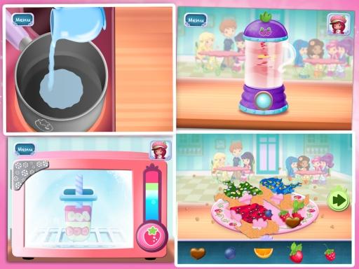 草莓女孩甜品店游戏截图0