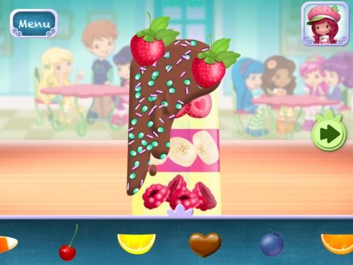 草莓女孩甜品店游戏截图1