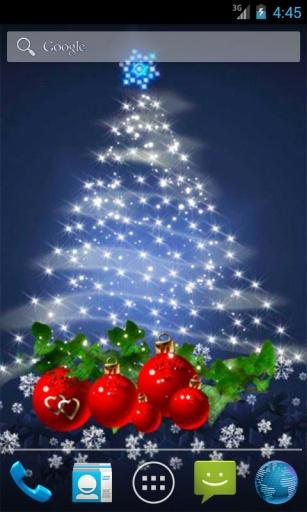 圣诞树动态壁纸截图0