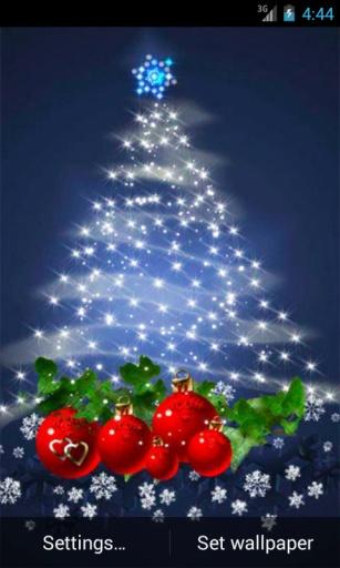 圣诞树动态壁纸截图1