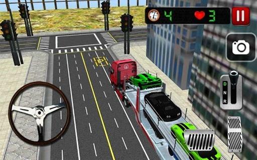 Car Transporter 3D截图5