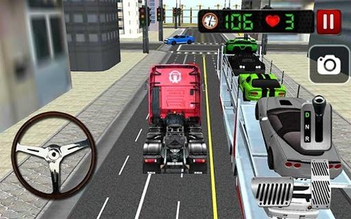 Car Transporter 3D截图6