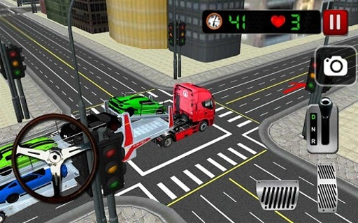 Car Transporter 3D截图7