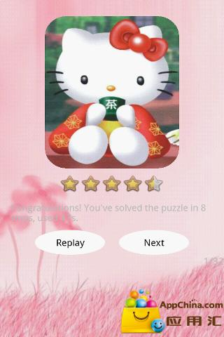 Hello Kitty 拼图 益智 App-癮科技App