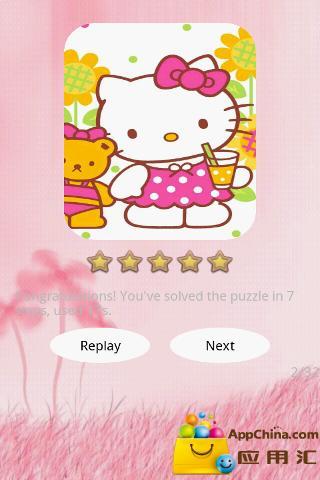 玩益智App|Hello Kitty 拼图免費|APP試玩