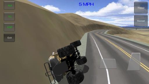 四轮驱动越野车三维