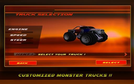 4×4越野沙漠卡车特技截图0