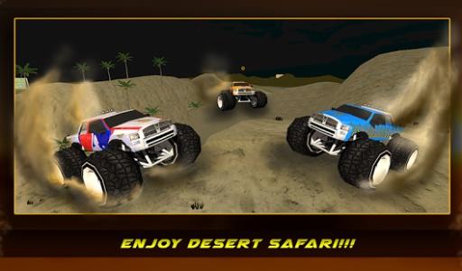 4×4越野沙漠卡车特技截图1