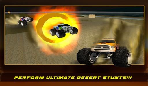 4×4越野沙漠卡车特技截图3