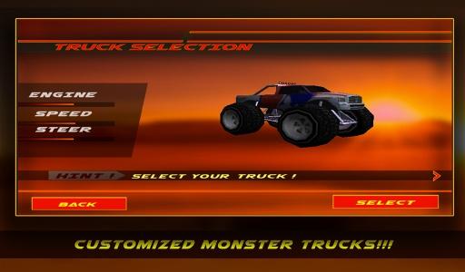 4×4越野沙漠卡车特技截图7