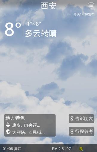 旅游天气截图1
