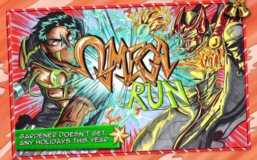 欧米茄跑酷-超级英雄