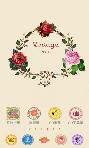 Vintage  GO桌面主题