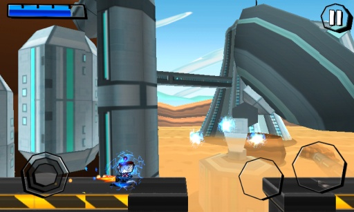 机器人奔袭高清版截图2