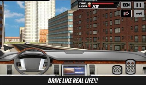 市豪华轿车轿车司机辛3D截图1