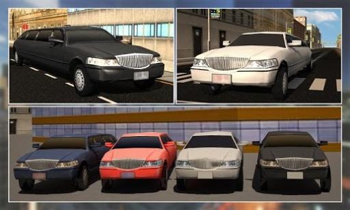 市豪华轿车轿车司机辛3D截图3
