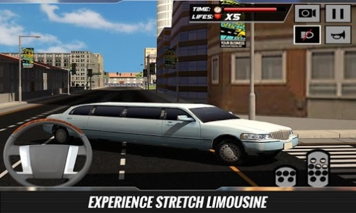 市豪华轿车轿车司机辛3D截图4