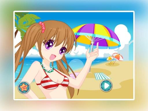 陽光女孩沙灘裝扮截图2