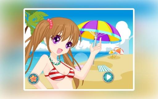 陽光女孩沙灘裝扮截图4