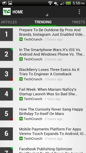 TechCrunch截图1