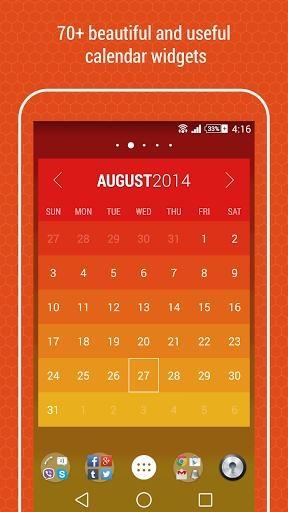 Month:The Calendar Widget截图1