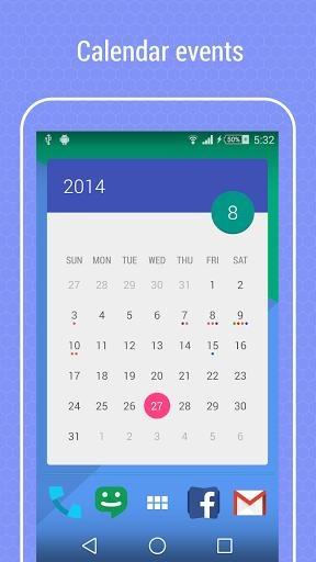 Month:The Calendar Widget截图2