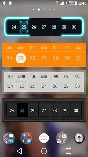 Month:The Calendar Widget截图3