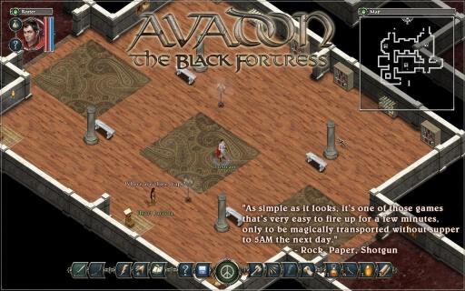 阿瓦登:黑暗城堡截图0