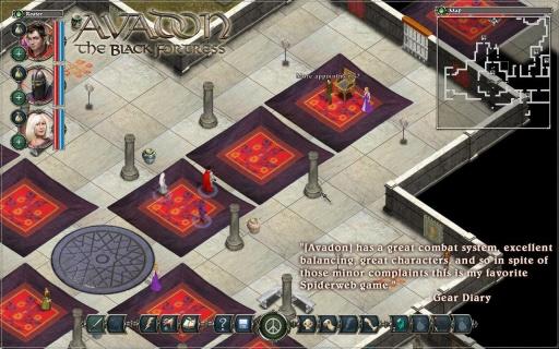 阿瓦登:黑暗城堡截图3