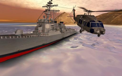 直升机模拟:Helicopter截图1
