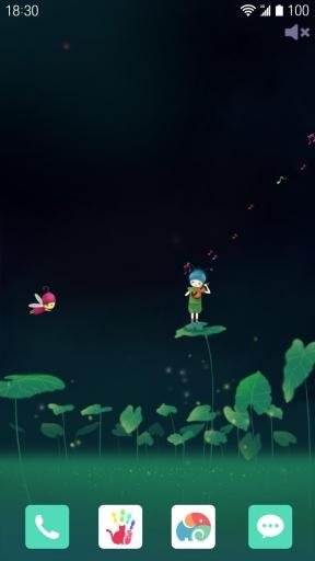 花语之海芋恋-梦象动态壁纸截图2