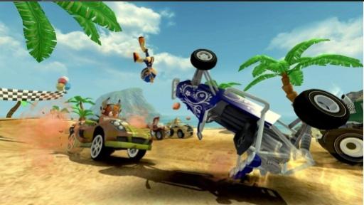 4D极速沙滩赛车截图0