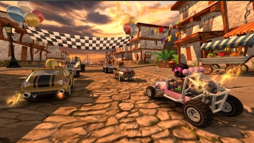 4D极速沙滩赛车截图2