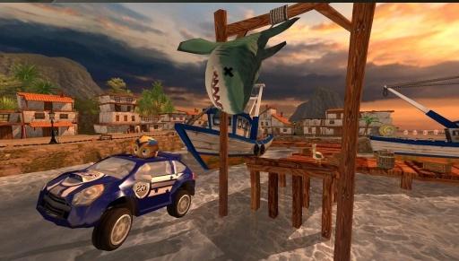 4D极速沙滩赛车截图4