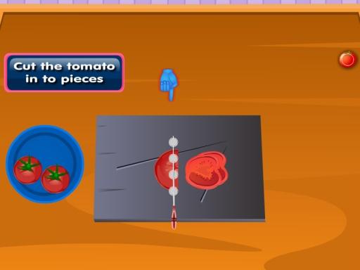 番茄意大利面烹饪游戏