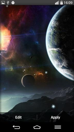宇宙的行星动态壁纸
