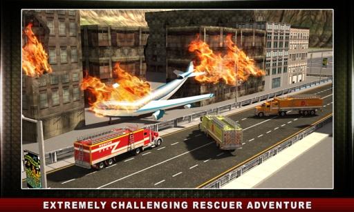 机场救援卡车模拟