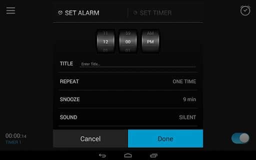 Alarm Clock截图4