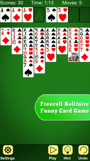 FreeCell Solitaire Msn IG Bbm
