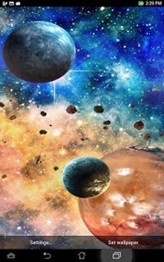 星系 动态壁纸