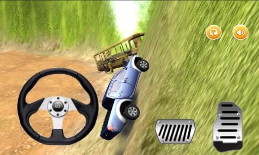 爬坡赛车:越野吉普车截图3