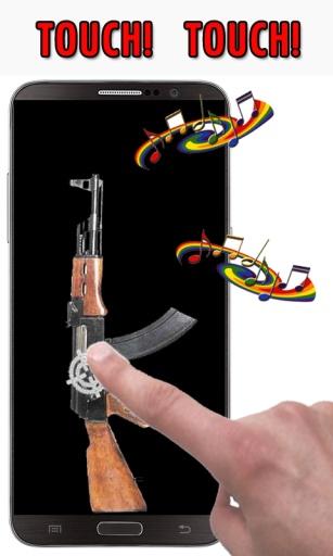 AK步枪射击声
