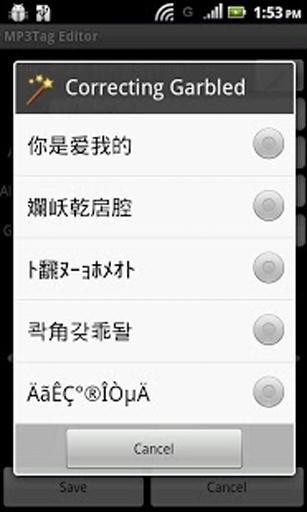 MP3 Tag Editor截图3