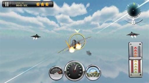 军队喷气飞机模拟器飞行游戏