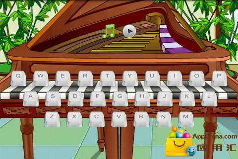 全键盘钢琴 去界面广告版本