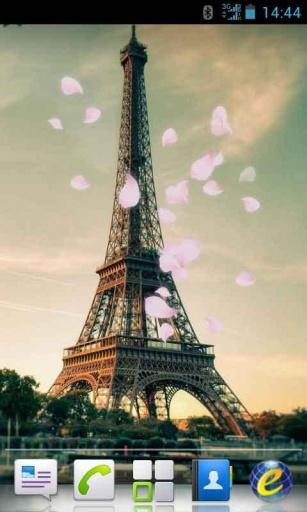 巴黎埃菲尔铁塔动态锁屏壁纸