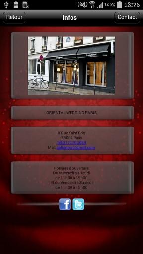 Oriental Wedding Paris截图1
