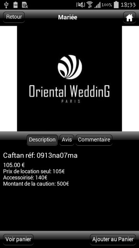 Oriental Wedding Paris截图2